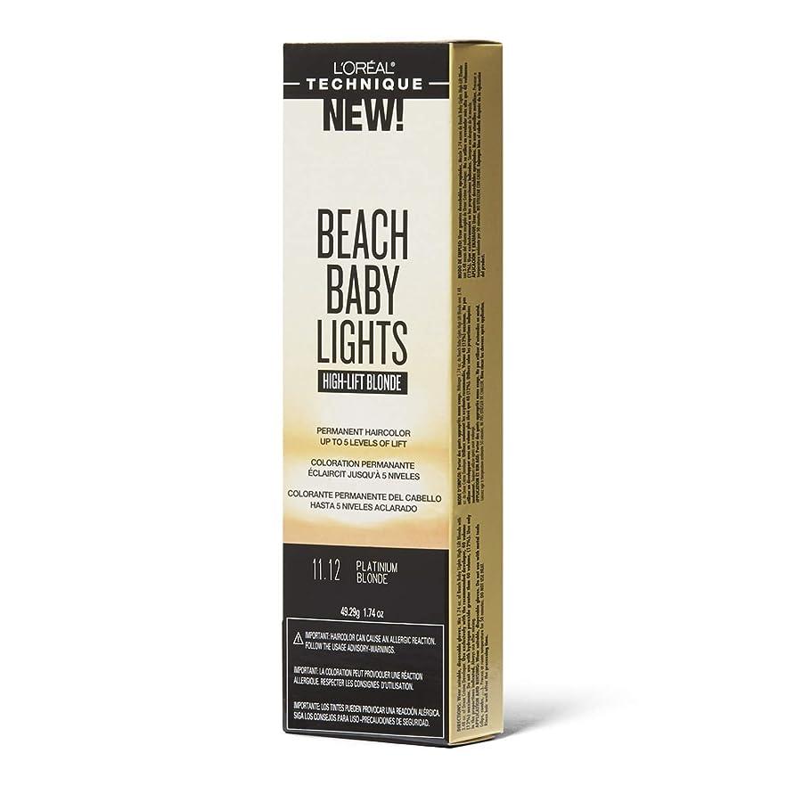 ネブ法律によりユニークなL'Oreal Paris L'Orealのビーチ赤ちゃんライトハイリフトプラチナブロンド11.12プラチナブロンド