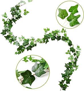 Guirnalda de Hiedra Artificial, 1 Unidades de Hojas Verdes