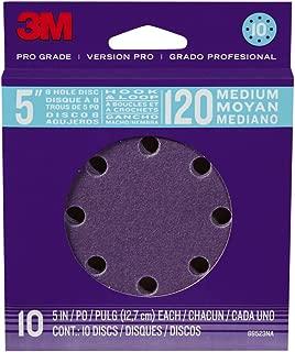 3M 88523NA-9-B Pro Grade 5-Inch 8-Hole Sanding Disc