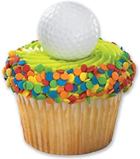 DecoPac Golf Ball Cupcake Rings (12 Count)