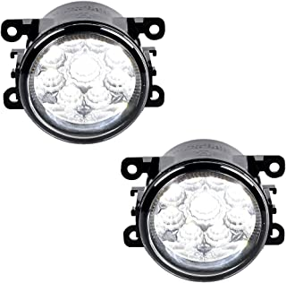 2X 55W LED Fog Light Lamps For Ford Focus Mustang Ranger Fiesta Fusion Explorer C-Max Transit Connect Freestyle Taurus X