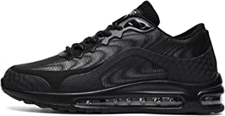 ASMCY Hombres Malla Zapatos para Correr Respirable Ligero Cómodo Casual Zapatillas de Deporte, Colchón de Aire Zapatillas ...