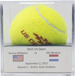 Match Used US Open Sept. 2nd 2015 Tennis Ball Serena Williams Vs Kiki Bertens