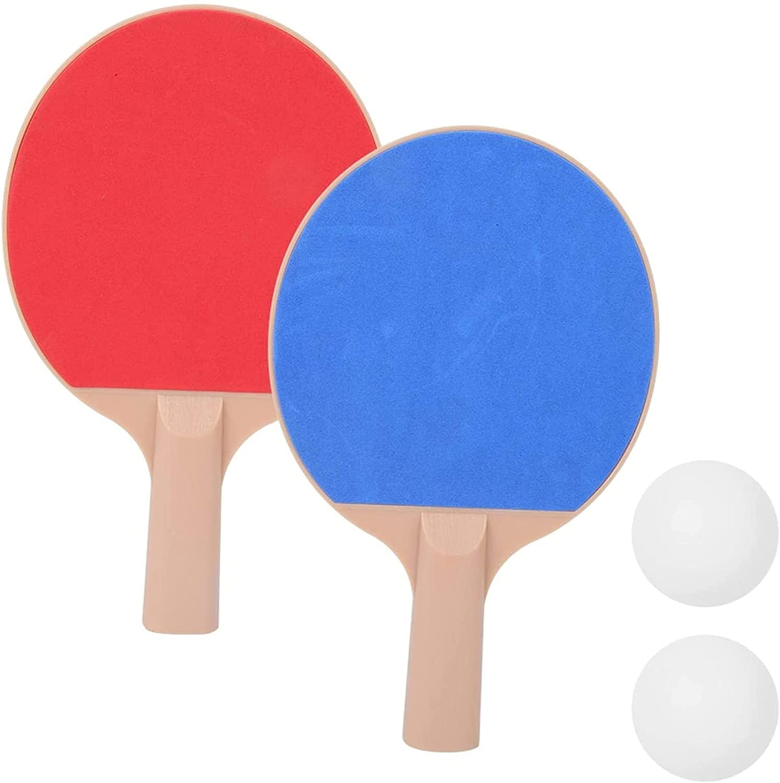 ZFQZKK Use la Mesa de Ping punzada de Ping Paddle Liviana, para al Aire Libre Juego de Ping Pong