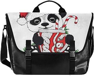 Bolsa de lona para hombre y mujer, diseño de panda retro