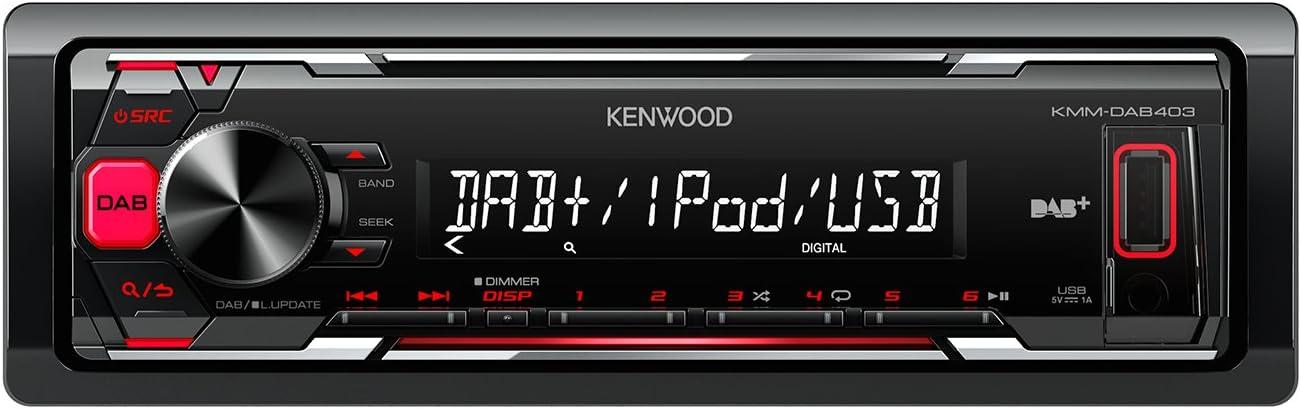 Kenwood Kmm 203 Media Receiver Mit Apple Ipod Elektronik