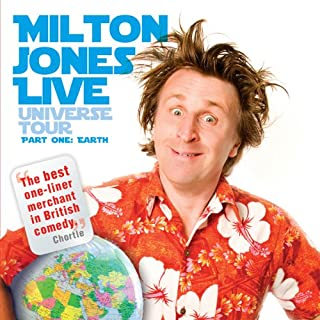 Milton Jones Live cover art