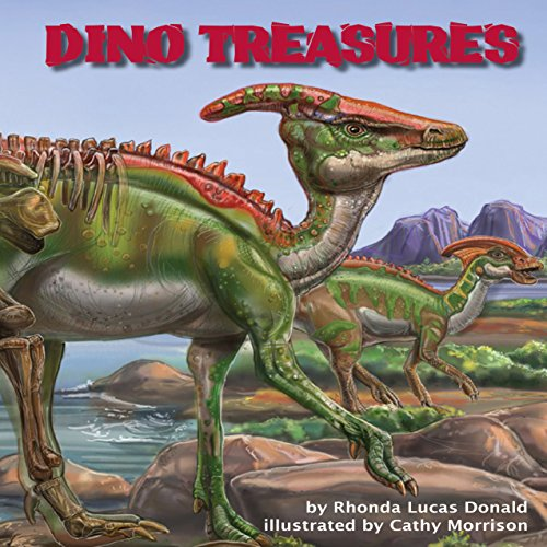 Dino Treasures audiobook cover art