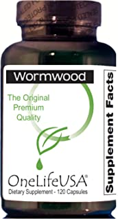 Original Premium Quality Pure Wormwood (no Quassia or Male Fern Added). Product Verified by Dr. H. Clark. 250mg,120 Capsul...
