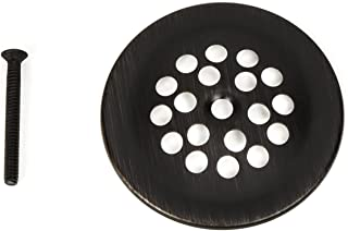 PF WaterWorks PF0915-ORB Bathtub/Bath Tub Shoe Grid/Strainer Cover 2-7/8 Inch with Matching Screw for use with Trip Lever Style Drain Assembly, Oil Rubbed Bronze