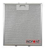 Redpoint® - Filtro de aluminio para campanas 267 x 305 x 9 mm - Adaptabilidad: 'Elica'