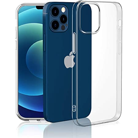 iPhone 12 ケース/iPhone 12 Pro ケース クリア 2020 新型 6.1インチ 透明TPU iPhone 12/ iPhone 12 Pro カバー Qi急速充電対応 傷つき防止 黄変防止 iPhone12 Pro/iPhone12 バンパー 全面保護 軽量 カメラ保護