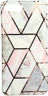 جراب خلفى سيليكون بتصميم رخامى لايفون 7 بلس وايفون 8 بلس من بوتر - متعدد الالوان