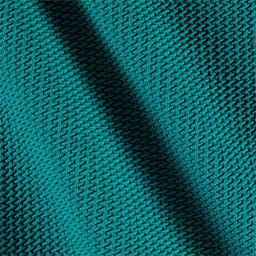Telio Paola Pique Liverpool Stretch Knit Emerald, Fabric by the Yard