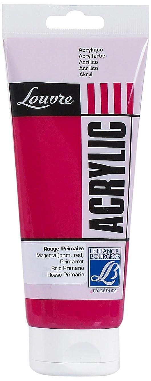 Lefranc & Bourgeois - Louvre Acrylic Color - 200ml Tube - Magenta