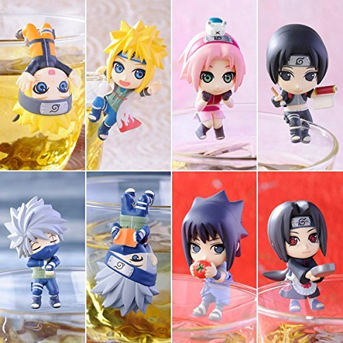 OIVA Set of 8 Pieces Naruto Break Time on Cup Series
