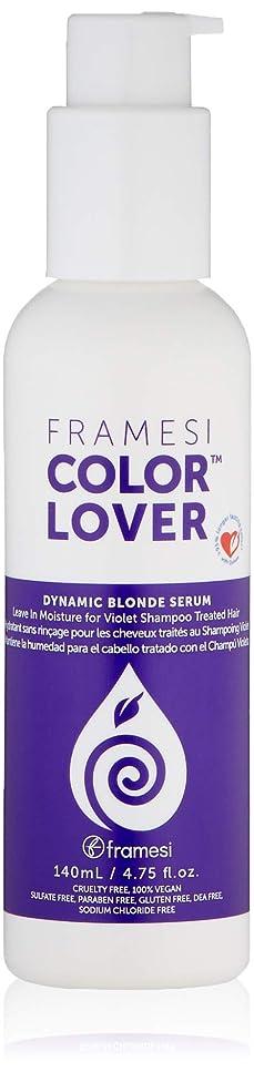 日目覚める長くするFRAMESI Framesi Framesi色の恋人ダイナミックブロンド血清、4.75オンス