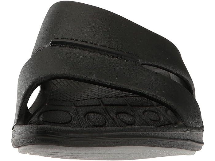 Aetrex Lynco Slide Black Sandals