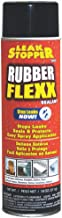 Leak Stopper Rubber Flexx Leak Repair & Sealant Spray 18 Oz | Just Point & Spray for Making basic repairs on wood, asphalt roofing, metal and masonry surfaces | 100 % Flexible Seal | Black |