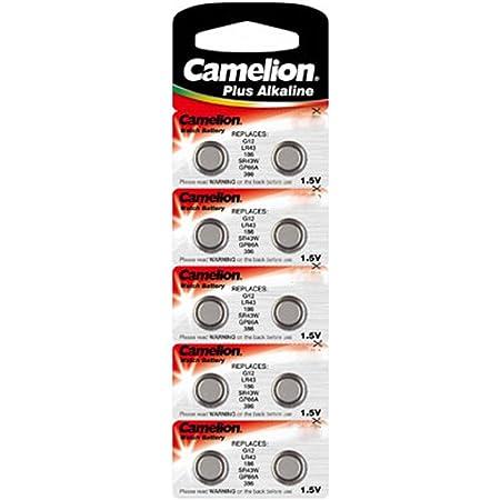 Camelion Ag 6 Lr 69 1 5 V Alkaline Knopfzelle 10 Stück Elektronik