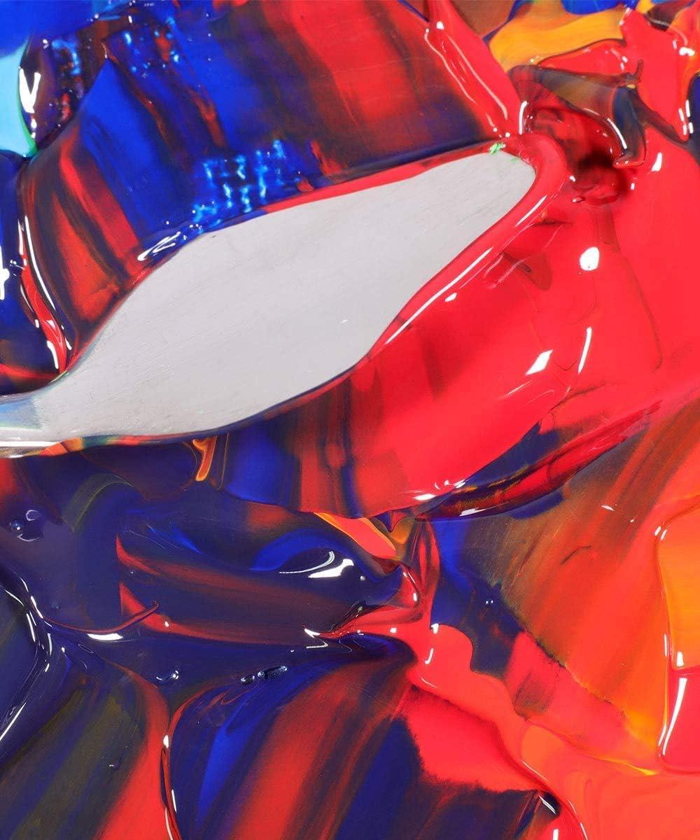 Amazon.com: Mont Marte Signature Acrylic Color Paint Set, 12 x 2.5oz (75ml),  Semi-Matte Finish, 12 Colors, Suitable for Most Surfaces Including Canvas,  Card, Paper and Wood