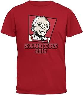 Election 2016 Kentucky Fried Bernie Sanders Red Adult T-Shirt