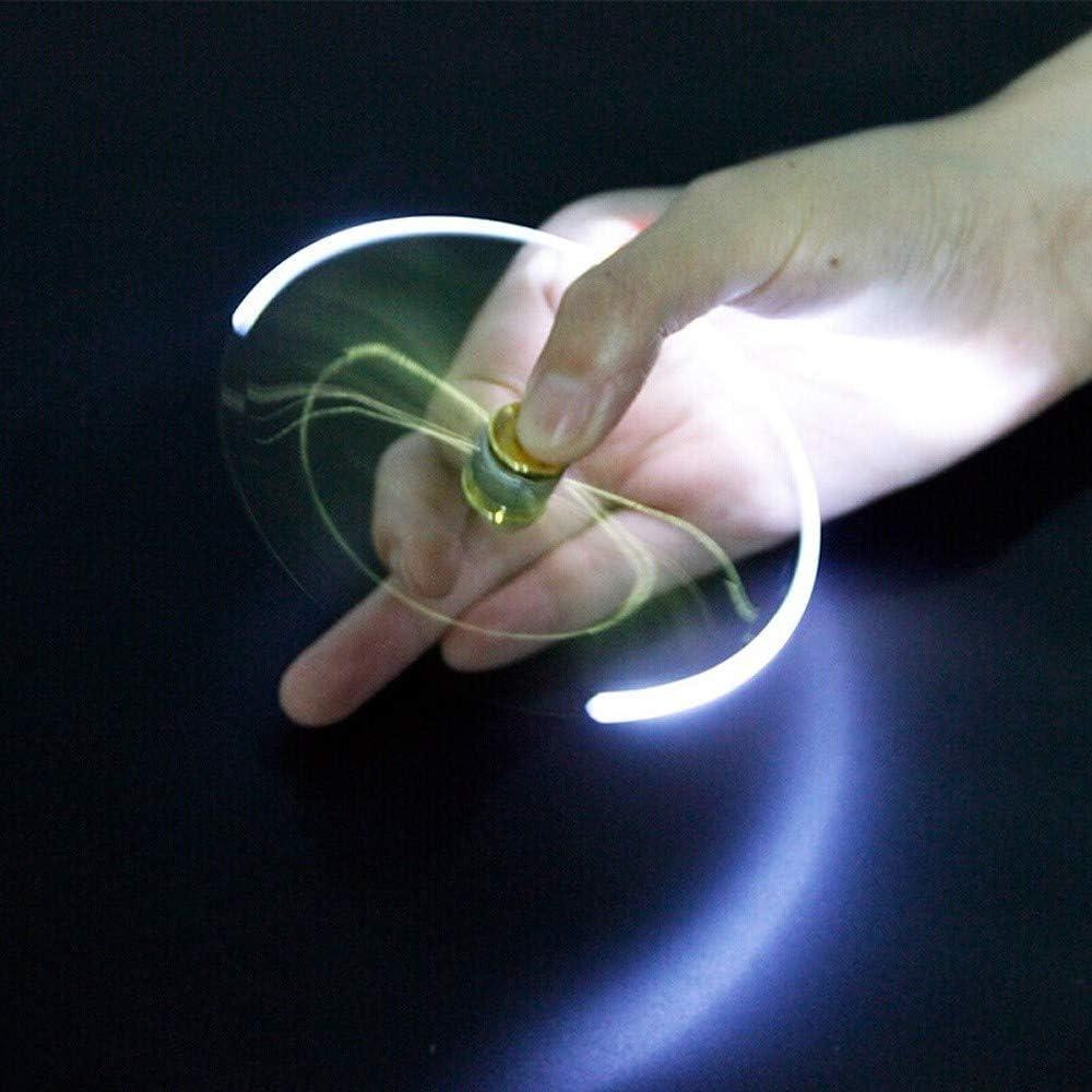 SSRS Penna a sfera della penna luminosa del giroscopio decompressione Gyro multifunzionale Spinner LED Rotating Spinner dita Gyro Nxiety soccorso e Stress Relief for bambini e adulti ridurre lo stress