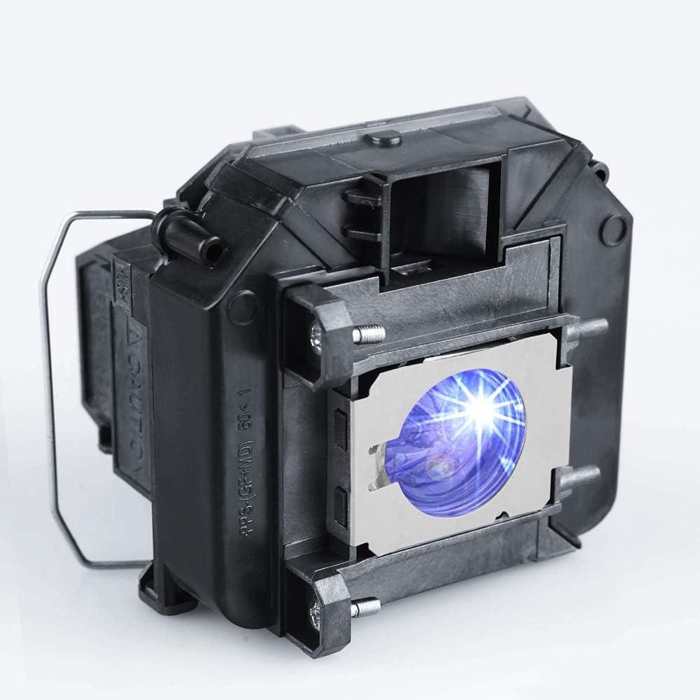 KAIWEIDI ELPLP60/V13H010L60 Replacement Projector Lamp for EPSON EB-2020 EB-2060 EB-420 EB-421I EB-905 EB-93 EB-95 EB-96W H381A H387A,PowerLite 420 425W 905 95 96W,BrightLink 425Wi 430i Projectors