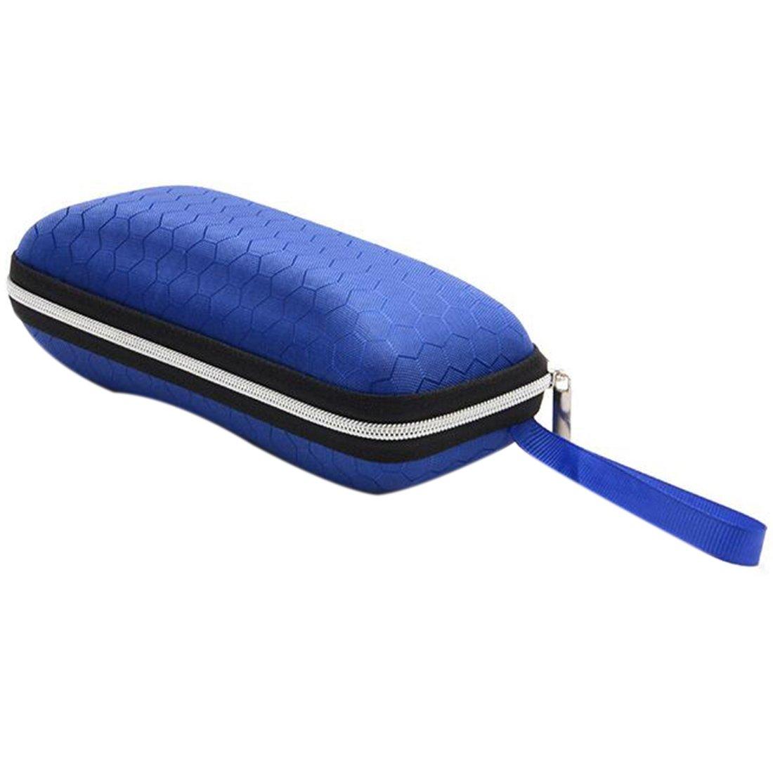 Estuches para Gafas Gafas Protectoras Caja Protectora Rectángulo Gafas de Sol con Cierre de Cremallera Estuche de Gafas con Lentes rígidas Azul: Amazon.es: Deportes y aire libre