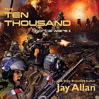 The Ten Thousand: Portal Wars II audiobook cover art