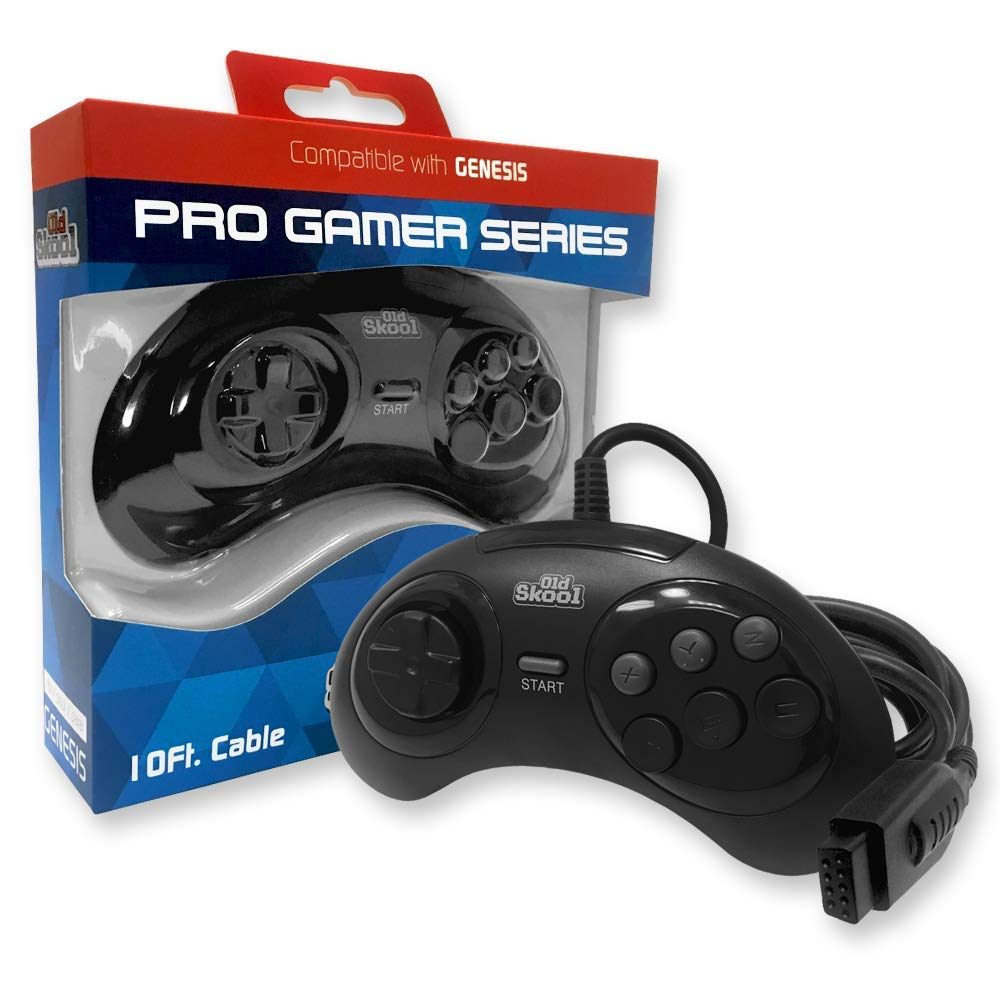 Old Albuquerque Mall Skool Pro Shipping included Gamer Series Genesis Controller Sega for