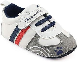 comprar comparacion Zapatillas de Deporte Bebé, LANSKIRT Recién Nacido Prewalker Zapatos de Suela Blanda Antideslizante Zapatos con Velcro Zap...