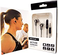 Soundlogic XT Active Sport Stereo Earbuds With Microphone