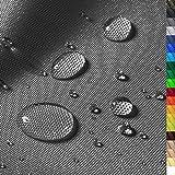 1buy3 'Monaco Wasserdichter Polyester Stoff | 12.000 mm Wassersäule | Farbe 18 | Graphit |...