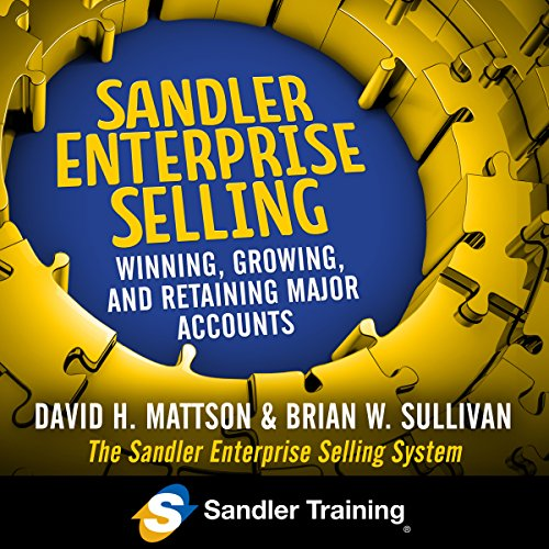 Sandler Enterprise Selling audiobook cover art