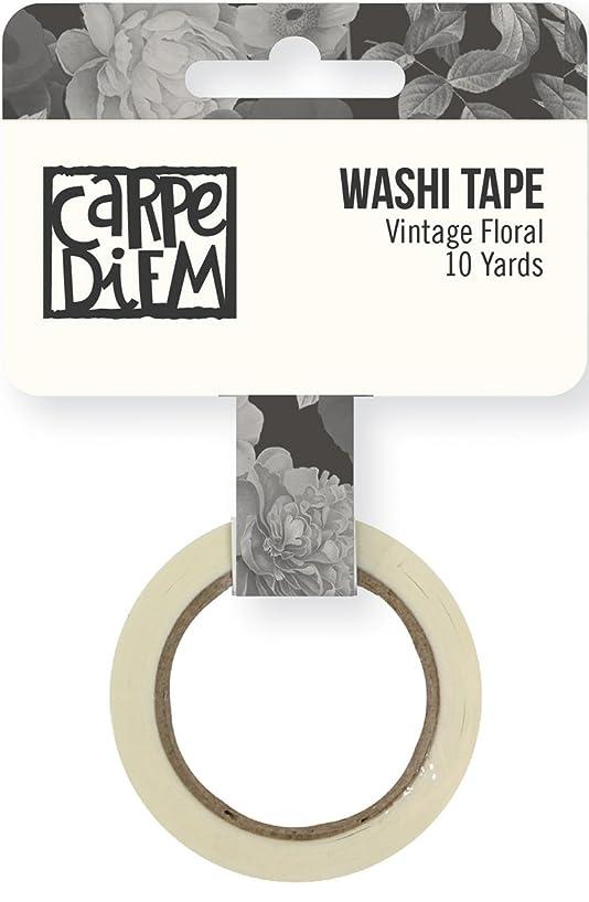Carpe Diem by Simple Stories Vintage Floral Washi Tape
