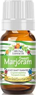 Pure Gold Sweet Marjoram Essential Oil, 100% Natural & Undiluted, 10ml