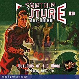 Captain Future: Outlaws of the Moon cover art