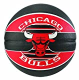 Spalding NBA Team Chicago Bulls 83-503Z Balón de Baloncesto, Unisex, Multicolor, 7
