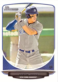 2013 Bowman Draft Picks Baseball #BDPP19 Aaron Judge Pre-Rookie Baseball Card - 1st Bowman Card