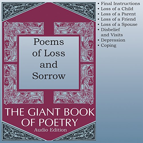 Poems of Loss and Sorrow audiobook cover art