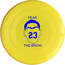 AOLM Fear The Brow #23 Anthony Outdoor Game Frisbee Flying Discs Yellow