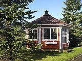 via nordica Grillhütte 12m²   Hochwertiges Grillhaus für den Garten   Als Bausatz inkl. Montagematerial