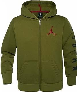 Jordan Nike Air Boys' Jumpman Graphic Full-Zip Jacket