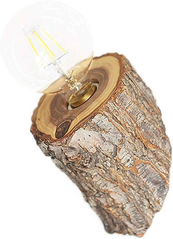 Wall Wash Lichter Kreative Massivholz LED Nachttischlampe Schlafzimmer Lampe Hotel Korridor Restaurant Garten Wandleuchte für Wohnzimmer Schlafzimmer Badezimmer Küche Esszi ( Farbe   Wood )