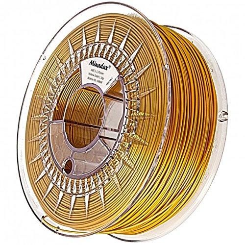 Minadax, filamento di ABS per stampanti 3D, di qualità premium, prodotto in Europa