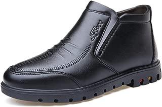 2018 New Arrival Men Boots Men's Inside Rubber Outsole Leisure Shoes Ankle Boots Slip On Warm Faux Fleece