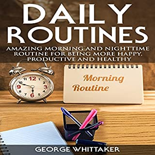 Daily Routine audiobook cover art