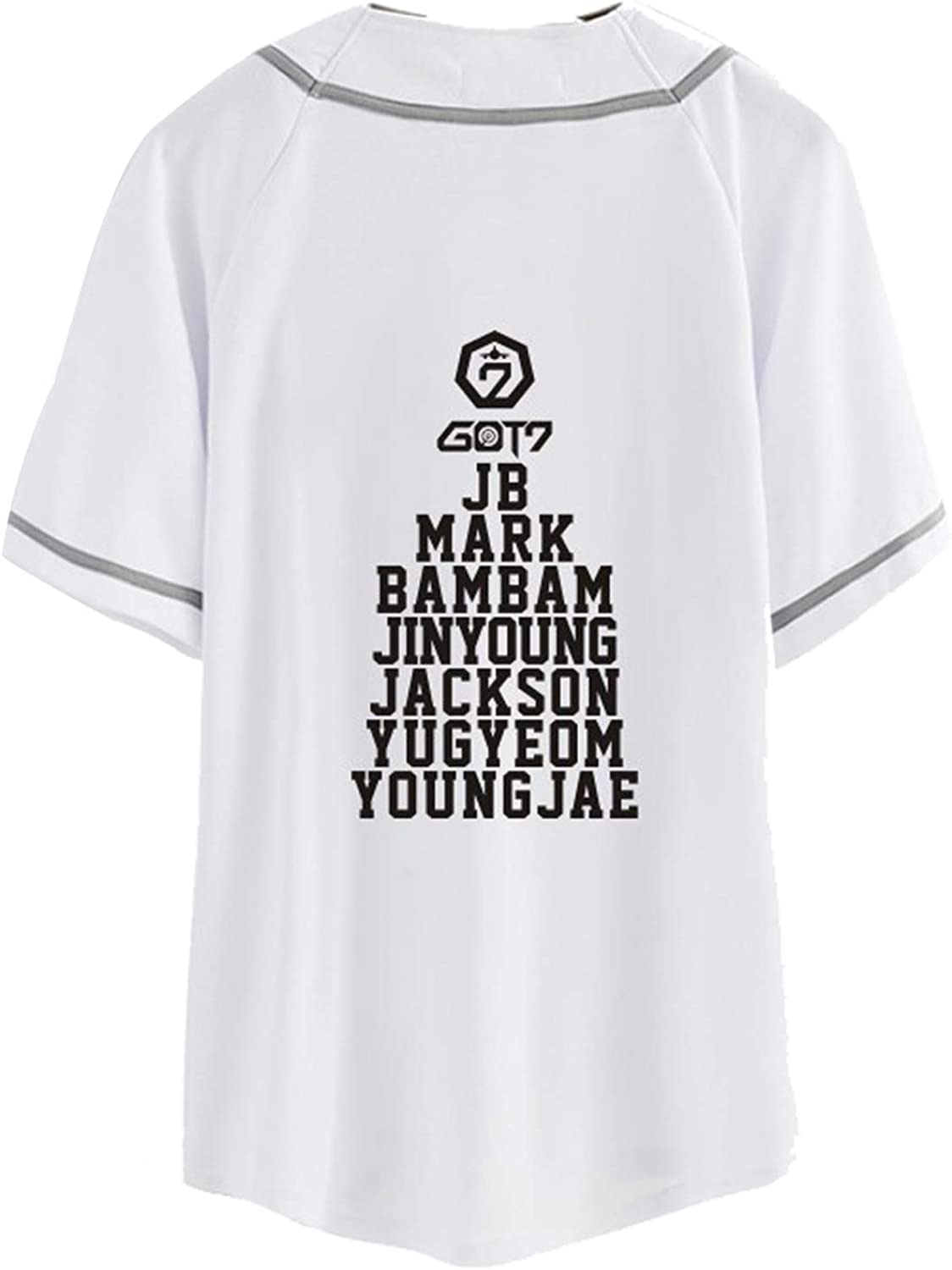 BabyHealthy GOT7 Fly in Seoul Same Style TShirt Bambam Mark Jackson JB JR Tee Shirt