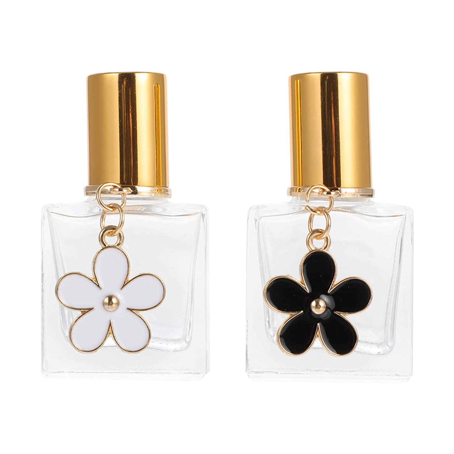 Lurrose Glass Raleigh Mall Roll On Max 42% OFF Perfume Refillable 10ML Esse 2pcs Bottles